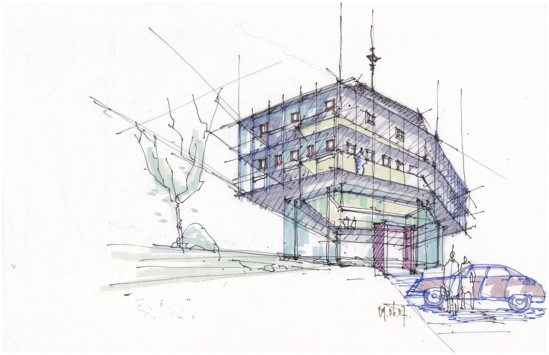 Utopia - Studie Bürogebäude UD-Chemie