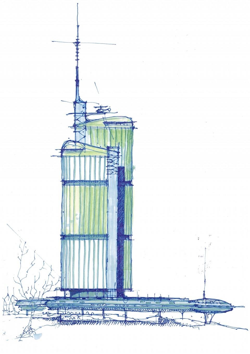 Utopia - Studien zu Hochhäusern