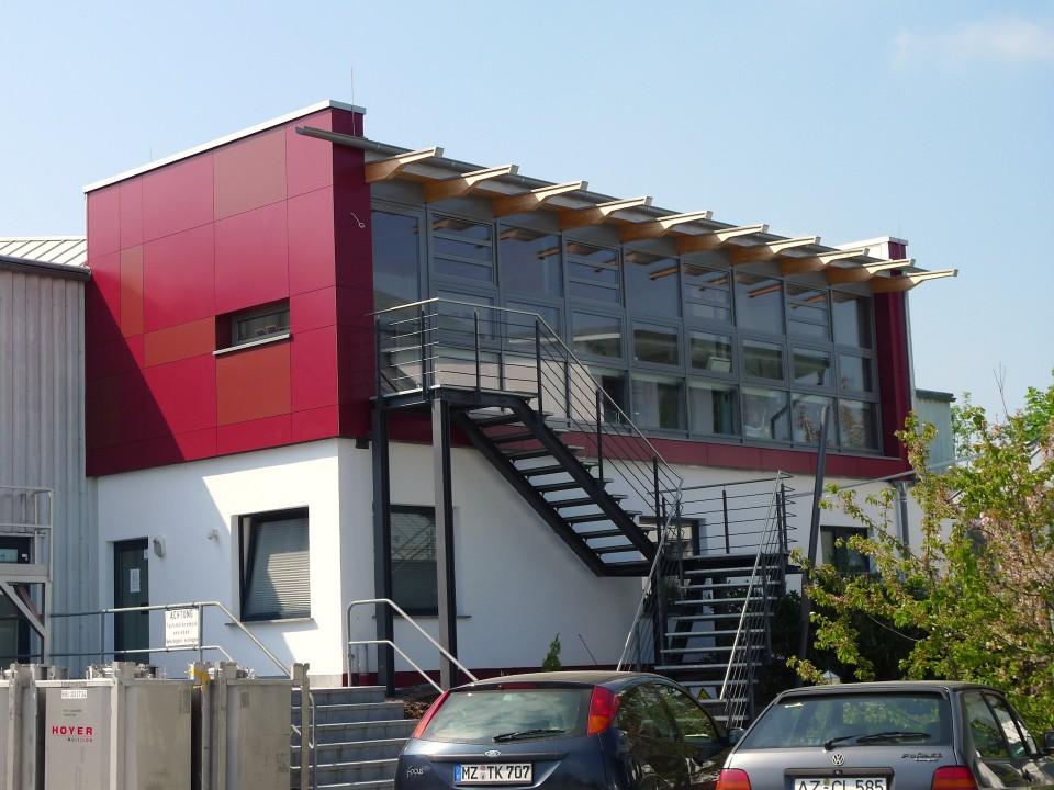 Bürogebäude UD-Chemie Wörrstadt