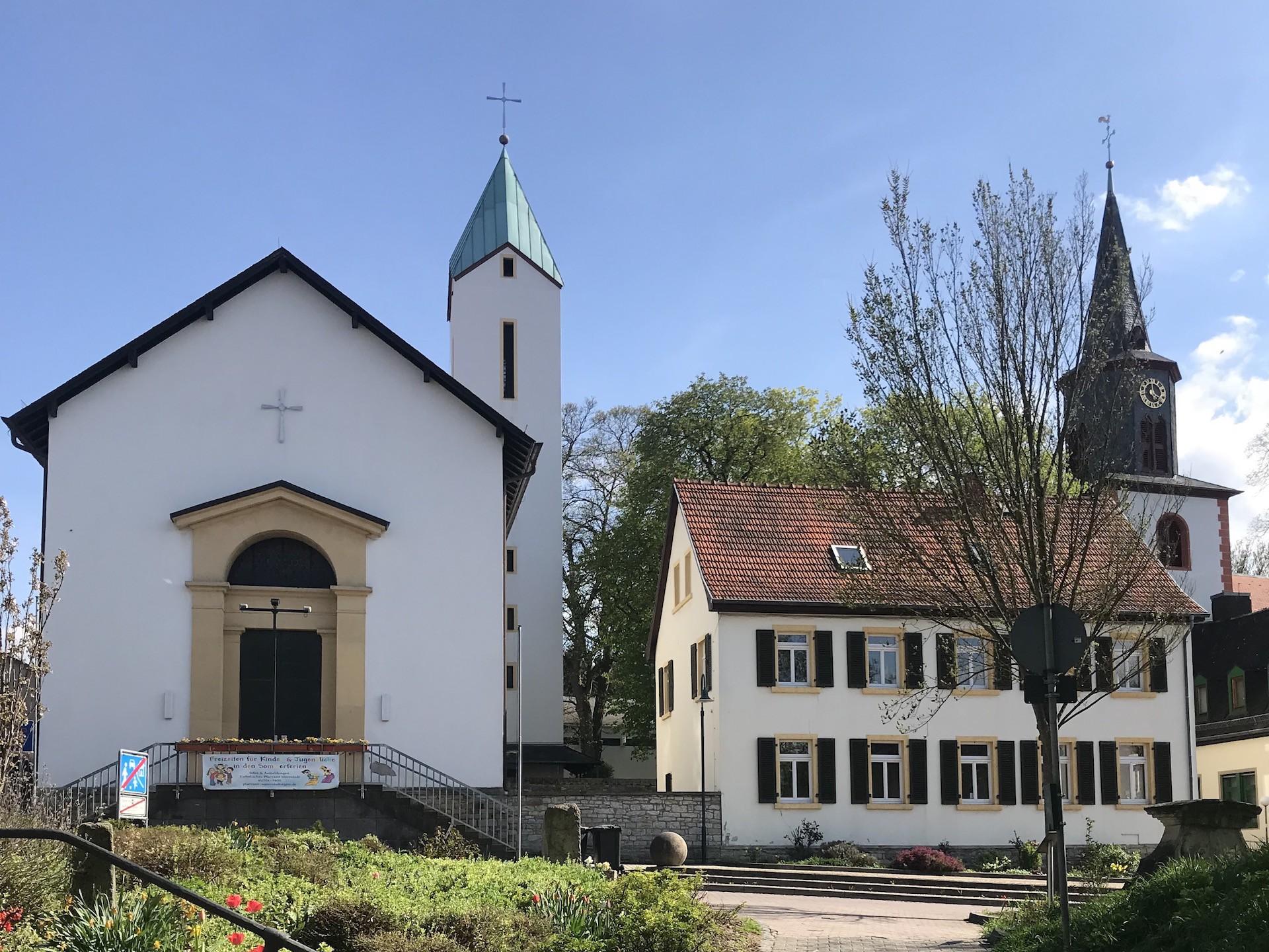 Katholische Kirche in Wörrstadt